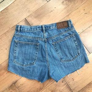 Vintage Calvin Klein Cut Off Jean Shorts Denim